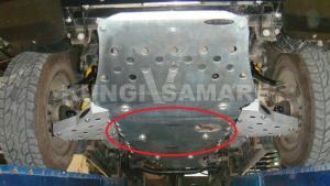 Защита двигателя (часть 2, нижняя)
