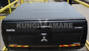 Крышка кузова виниловая трехсекционная, черная